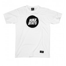 KOKA BEATS BIG LOGO WHITE