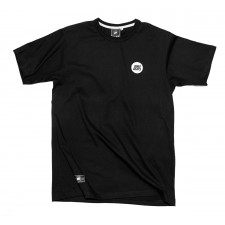 KOKA BEATS BUTTON T-SHIRT  BLACK